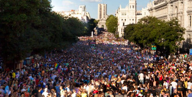 Manifestación estatal Orgullo LGTBI Madrid 2016