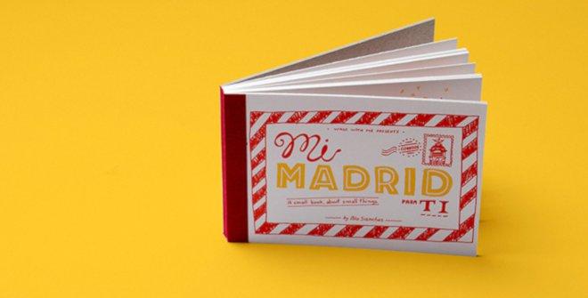 Recuerdos de Madrid - Un lote de postales de Madrid con mensaje