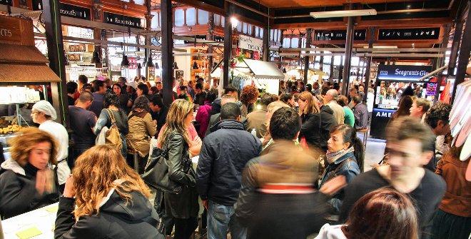 Mercados y espacios gastronómicos