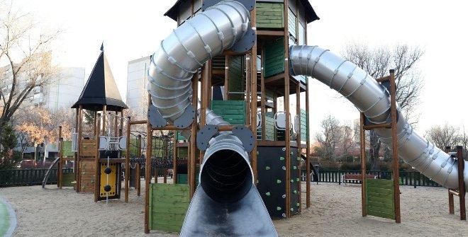 Áreas de juego infantiles