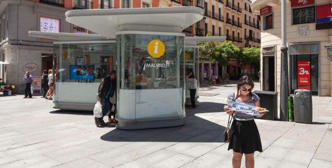 Punto de información Turística Plaza de Callao