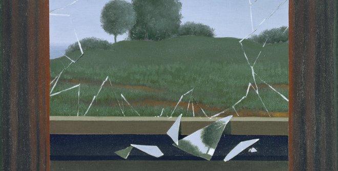 René Magritte. La Clef des champs, 1936. Óleo sobre lienzo. 80 x 60 cm © VEGAP, Madrid