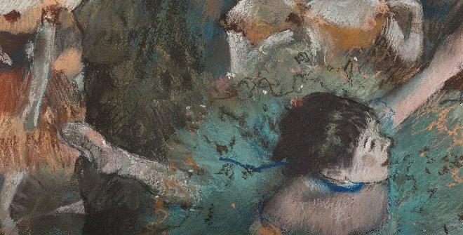 Edgar Degas  Bailarina basculando (Bailarina verde), 1877-1879