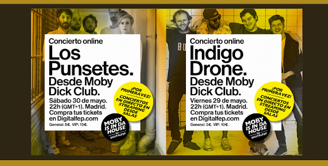 Moby is in da House: Los Punsetes / Indigo Drone