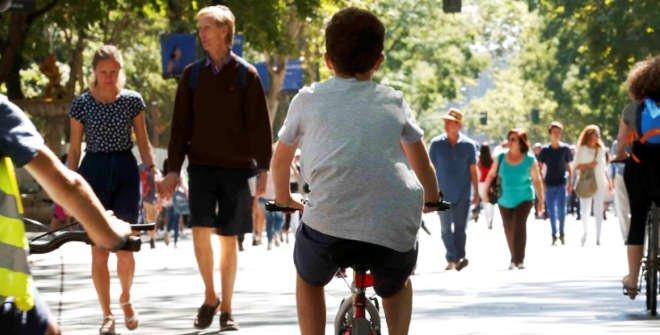 Moverse por Madrid en bicicleta