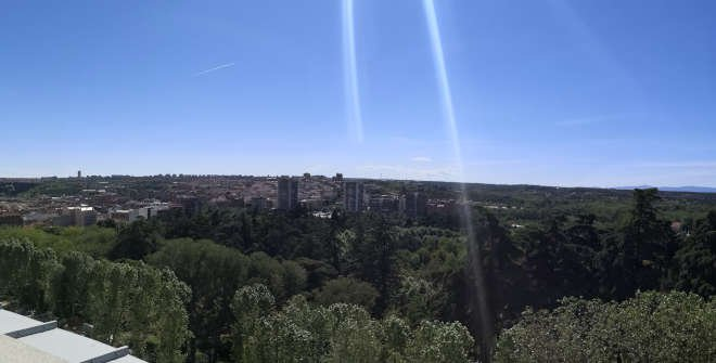 Mirador de la Cornisa del Palacio Real
