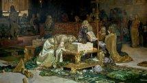 Los amantes de Teruel. 1884, Antonio Muñoz Degrain. © Museo Nacional del Prado