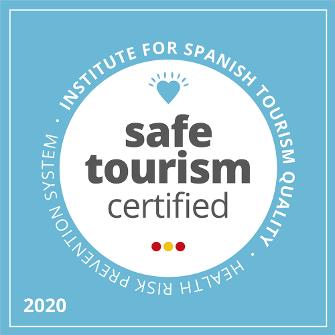Sello Safe Tourism Certified otorgado por el ICTE