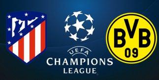 Atlético de Madrid - Borussia Dortmund (UEFA Champions League. Fase de grupos)