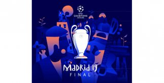 UEFA Champions League. Final Madrid 2019