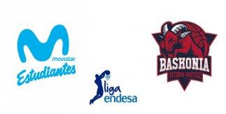 Movistar Estudiantes - Kirolbet Baskonia (Liga Endesa. Jornada 6)