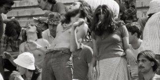 Pep Rigol. Imagen tomada en la 15 horas ciudad de Burgos. 5 de julio de 1975