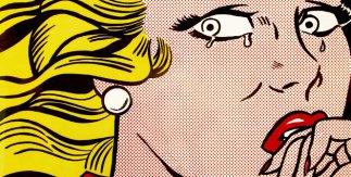 Roy Lichtenstein ,Mujer llorando, 1963