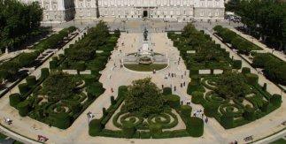 Jardines de la Plaza de Oriente