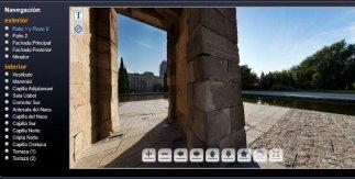 Templo de Debod en 3D. Memoria de Madrid. Biblioteca Digital del Ayuntamiento de Madrid