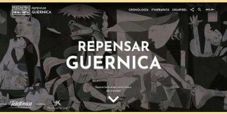 Web Repensar Guernica. Museo Nacional Centro de Arte Reina Sofía
